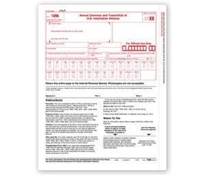 1096 Form for QuickBooks