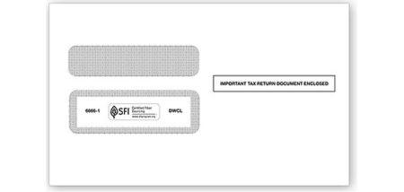 Envelopes - W-2 Standard